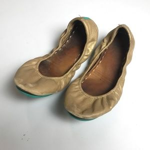 Tieks Slip On Flats Leather Size 10